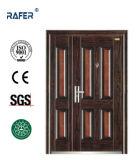 4つのパネルの母息子の鋼鉄ドア(RA-S140)