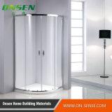 Cabine bon marché de douche de coin de salle de bains