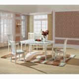 Cadeira de jantar de madeira moderna para o café (HW-603C)