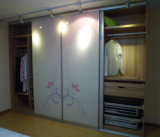 forces de défense principale Slidding Door Wardrobe de 18mm Melamine