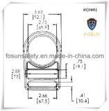 Anillo en D del metal de los accesorios del harness de seguridad (H311D)