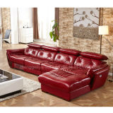 Klassisches Recliner-Leder-Sofa (899#)