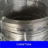 中国のステンレス鋼のコイル状の管