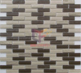 Mármol de Gaza y de cristal del azulejo de mosaico (CFS660)