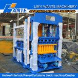 Wante Brand Qt4-15 Concrete Interlocking Paving Block Machine für Sale
