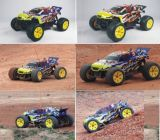 1: 10 nitro RC carro da escala 4WD