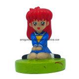 Desenhos animados brinquedos bonitos de um caráter da menina do Anime da parte