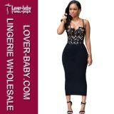 黒いNight方法女性イブニング・ドレス(L28032-1)