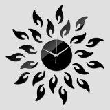 Klok van de Muur van Rubian de Klassieke Acryl - Zwarte