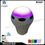 Bulbo esperto colorido do diodo emissor de luz RGB Bluetooth dos bulbos do diodo emissor de luz WiFi multi