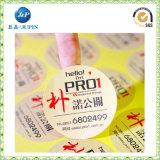 costume cortado profissional das etiquetas do vinil da etiqueta (JP-s038)