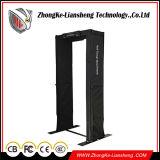 高品質の携帯用黒い戸枠の金属探知器
