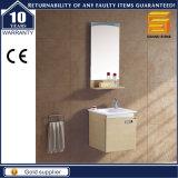 Mobilia della stanza da bagno di vanità della melammina del MDF con lo specchio per l'hotel
