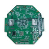 6layers自動機械のための緑マスクPCB