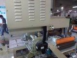 La escritura de la etiqueta de código de barras muere la máquina del cortador con el sellado de Laminatio+Punching+Hot