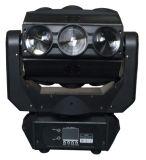新しく熱い販売DJは装置9X10W RGBW 4in1くもLEDの移動ヘッドビームライトを上演する