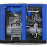 75HP企業で使用される省エネの静止した回転式ねじ圧縮機