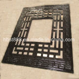 サウジアラビアの広いDiamaterの都市使用法の鋳鉄の木の火格子