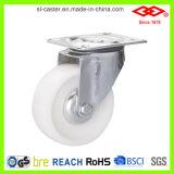 gat van de Bout van 160mm het Witte Nylon met het Wiel van de Bever van de Rem (G102-20D160X40S)