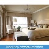 Mobília estofada Villadom branca do quarto da rainha da benevolência (SY-BS135)