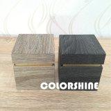 En bois comme la boîte-cadeau de papier colorée d'emballage de montre
