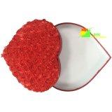 赤い中心の鋭いペーパー記憶のパッキングギフト用の箱
