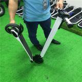 5inchカーボンファイバーの蹴りのLG電池が付いている電気スクーターのEバイク