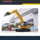 Máquina Carter CT150 da construção 15 toneladas de máquina escavadora da esteira rolante para a venda