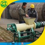 家畜の肥料または動物の排泄物の固体液体の分離器の工場