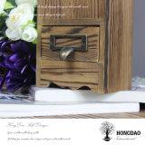 Hongdao personalizado de madera titular de la pluma con divisores y cajón Wholesale_L