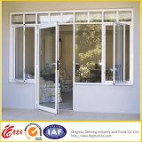 Ventana al por mayor del marco del aluminio/U-PVC de la alta calidad