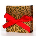 Caja de embalaje de la ropa con la maneta de la cinta
