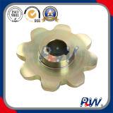 Rodas dentadas industriais padrão do chapeamento de cobre do RUÍDO (8T)