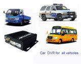 Канал DVR черного ящика HDD 4 автомобиля DVR/(HT-6504)
