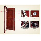 Security de aço Door Made em China (M-S6030)