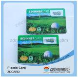 Smart card do número do Inkjet dos produtos novos com tira magnética do risco