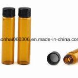 1-30ml effacent et la fiole en verre tubulaire ambre