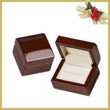Contenitore di monili di legno di lusso con il formato personalizzato