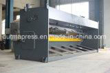 Máquina de estaca hidráulica do CNC QC11y-10*3000 controlada pelo sistema de E21s