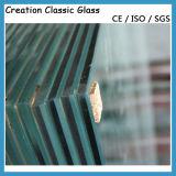 6.4mm-24mm 샤워 유리창 유리를 위한 편평한 박판으로 만들어진 플로트 유리