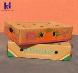 과일 & 야채 판지 물결 모양 패킹 포장 상자 쟁반