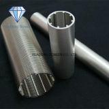 Pantalla de alambre de la cuña del acero inoxidable 316L de la alta precisión para la filtración del equipo industrial del petróleo