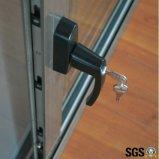 Ventana de aluminio del vidrio Tempered de la buena calidad, ventana de desplazamiento, ventana K01084