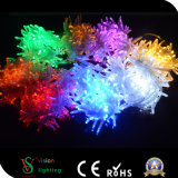 Indicatore luminoso esterno della stringa della decorazione IP65 LED degli indicatori luminosi di natale