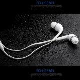 Fone de ouvido da em-Orelha do estéreo do branco 3.5mm para Samsung