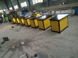 Machine de formation en queue de poisson de machine de fer travaillé