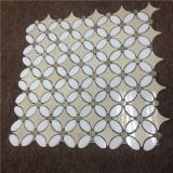 Elegante diseño del azulejo del mosaico por chorro de agua, mosaico de decoración de la casa
