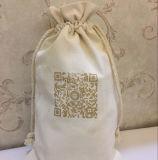 Material impresso 2016 costumes do algodão do saco de Drawstring