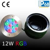 Свет плавательного бассеина RGB СИД с втулкой установки (JP948123)