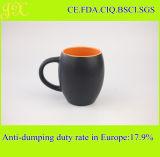 Buena taza de café de cerámica negra vendedora de Matt para Wholesase
